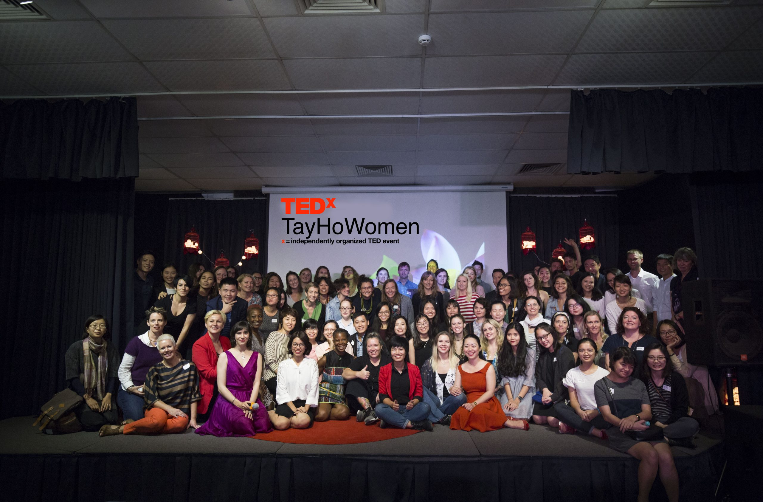 мероприятие TEDx групповое фото 2018 год